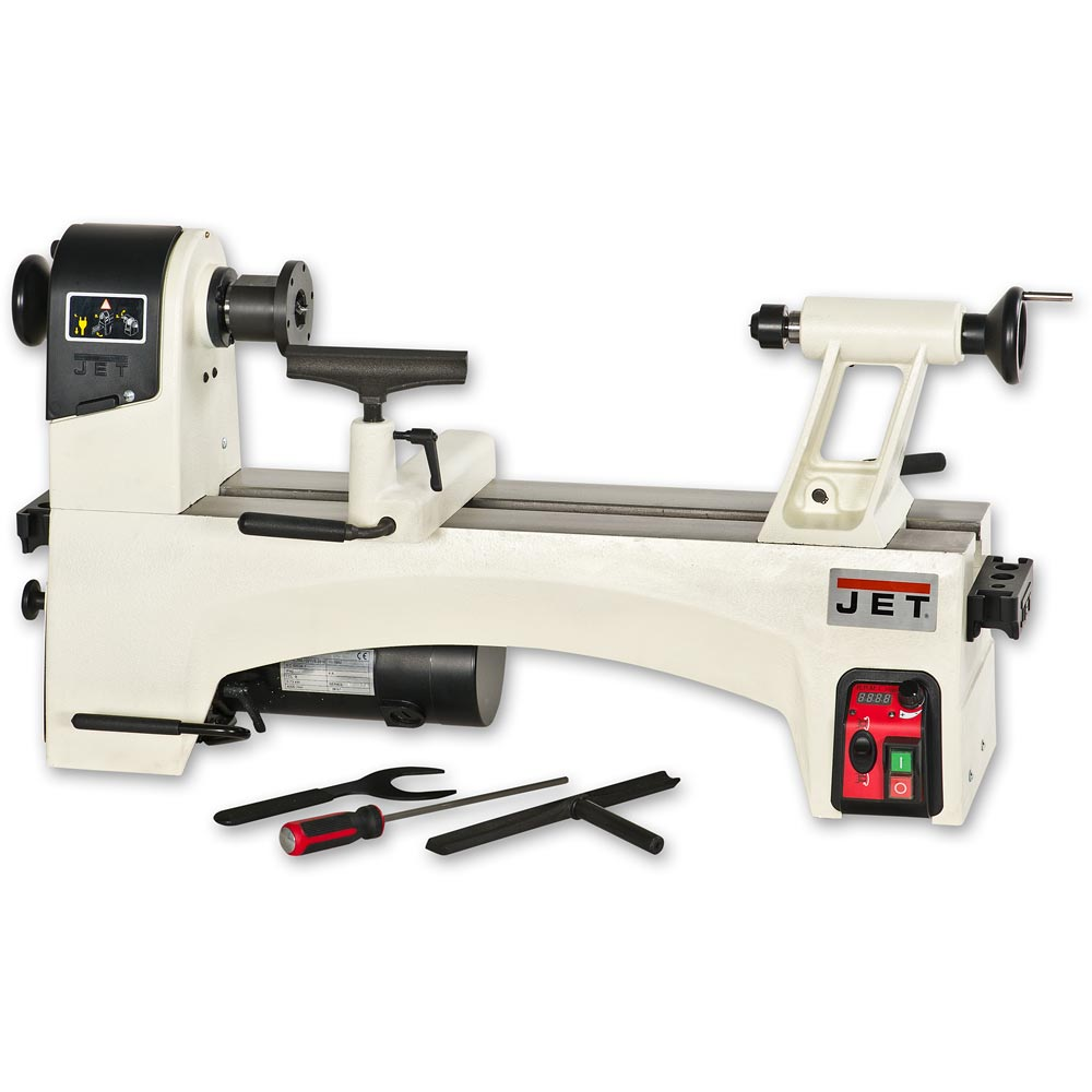 Jet Jwl 1221vs Woodturning Lathe 7612375705133 Ebay