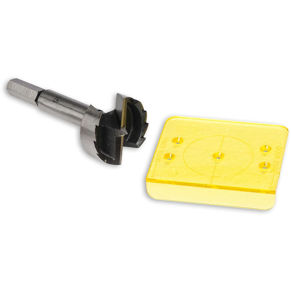 Cabinet Hinge Installation Jig & Bit 5052511023592 | eBay