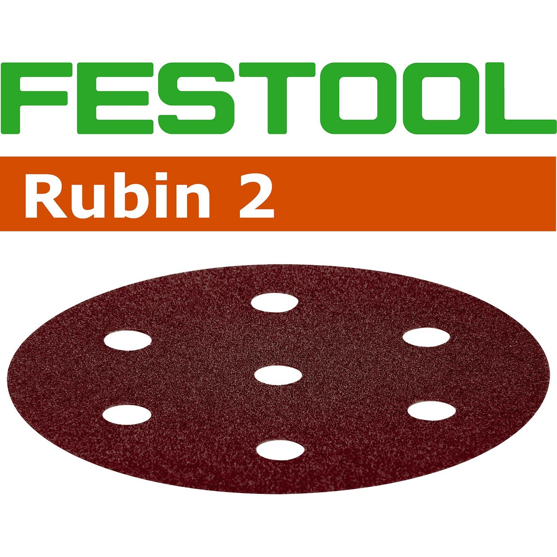 497375 499080 FESTOOL Schleifscheiben STF D90//6 P100 RU2//50 Rubin 2  Alt Neu