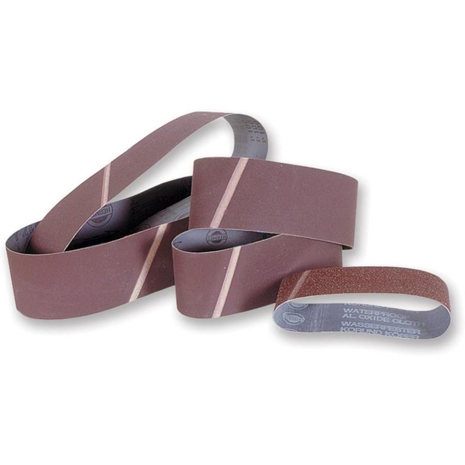 Makita Cloth Sanding Belt 75 x 457mm x 80 Grit (Pkt 5)