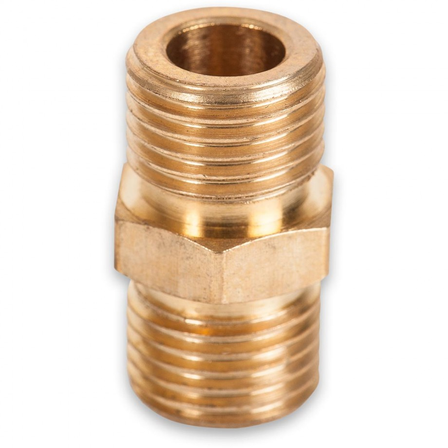 """Axminster Airline Fitting Joiner 1/4"""" BSPT Male"""