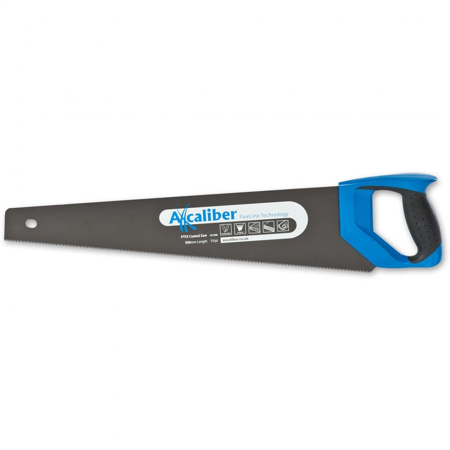 "Axcaliber Fineline PTFE Coated Handsaw 11tpi - 500mm(20"")"