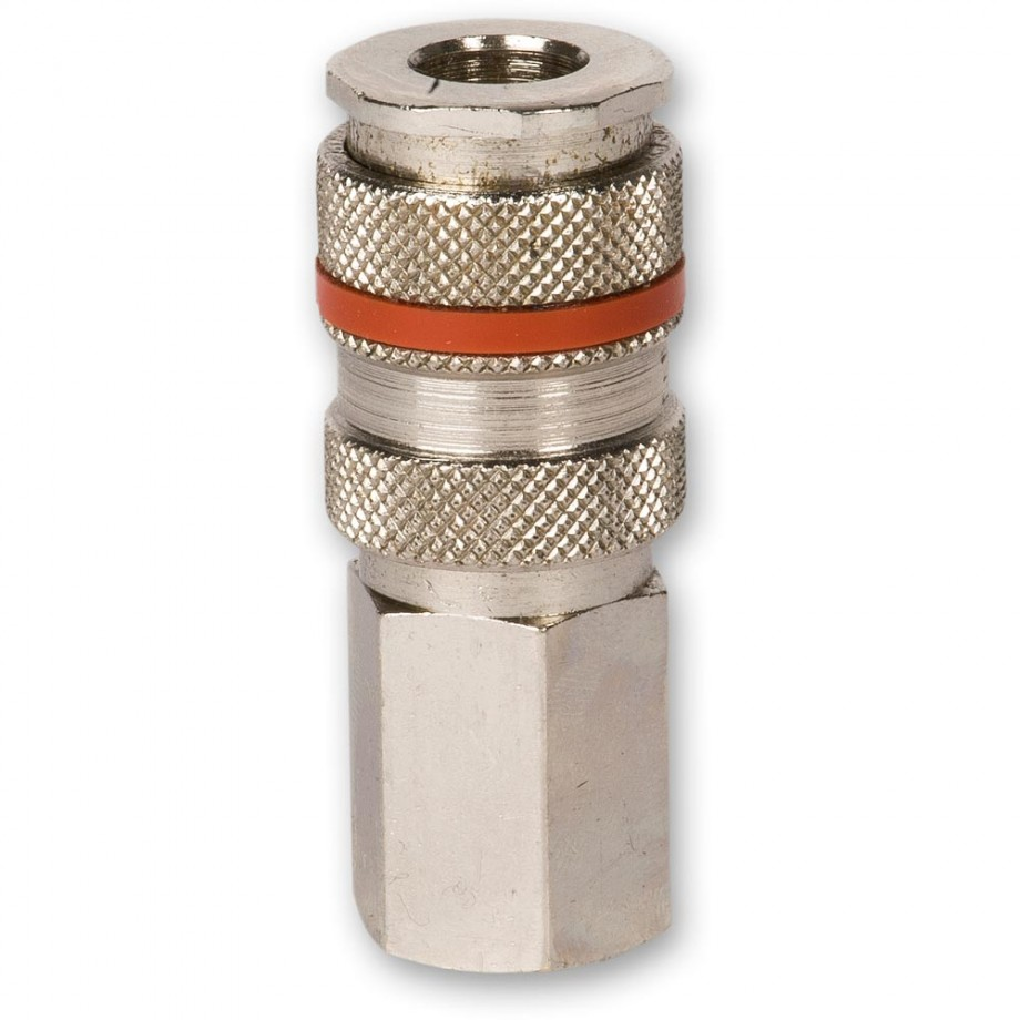 """Axminster 1/4"""" BSPT Male Q/R Air Line Coupling"""