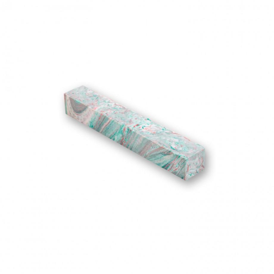 Aqua Acrylic Pen Blank