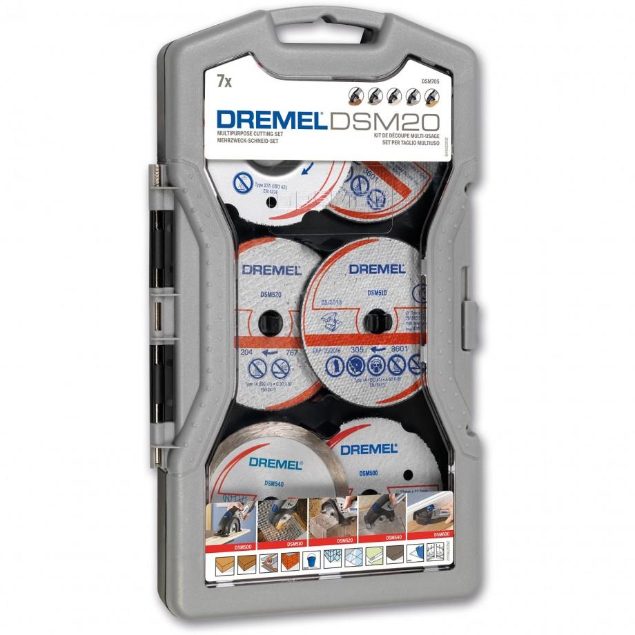 Dremel DSM20 Accessory Set 7 Piece