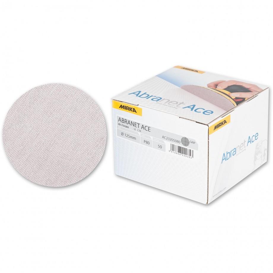 Mirka Abranet Ace Abrasive Disc 80g - 125mm (Box  50)