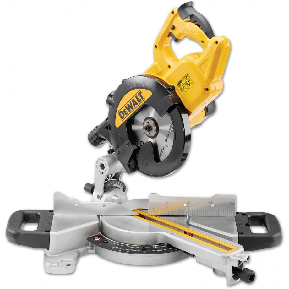 DeWALT DWS774 Mitre Saw 216mm 230V