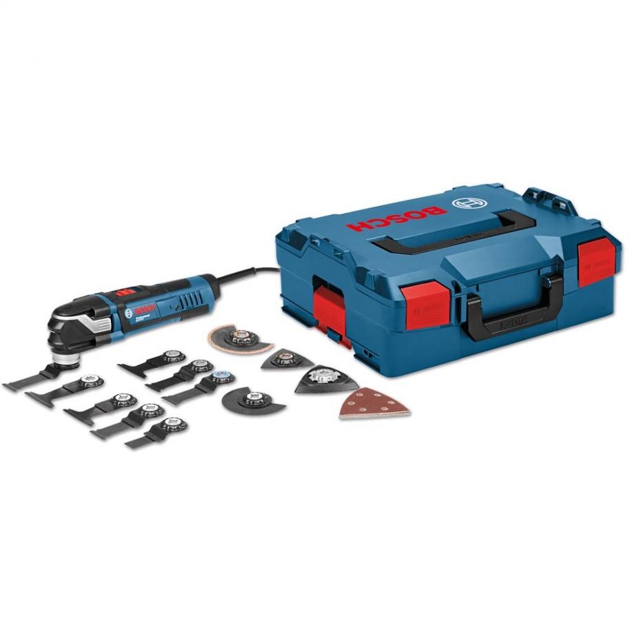 Bosch GOP 40-30 MultiCutter in L-BOXX & 15 Accessories