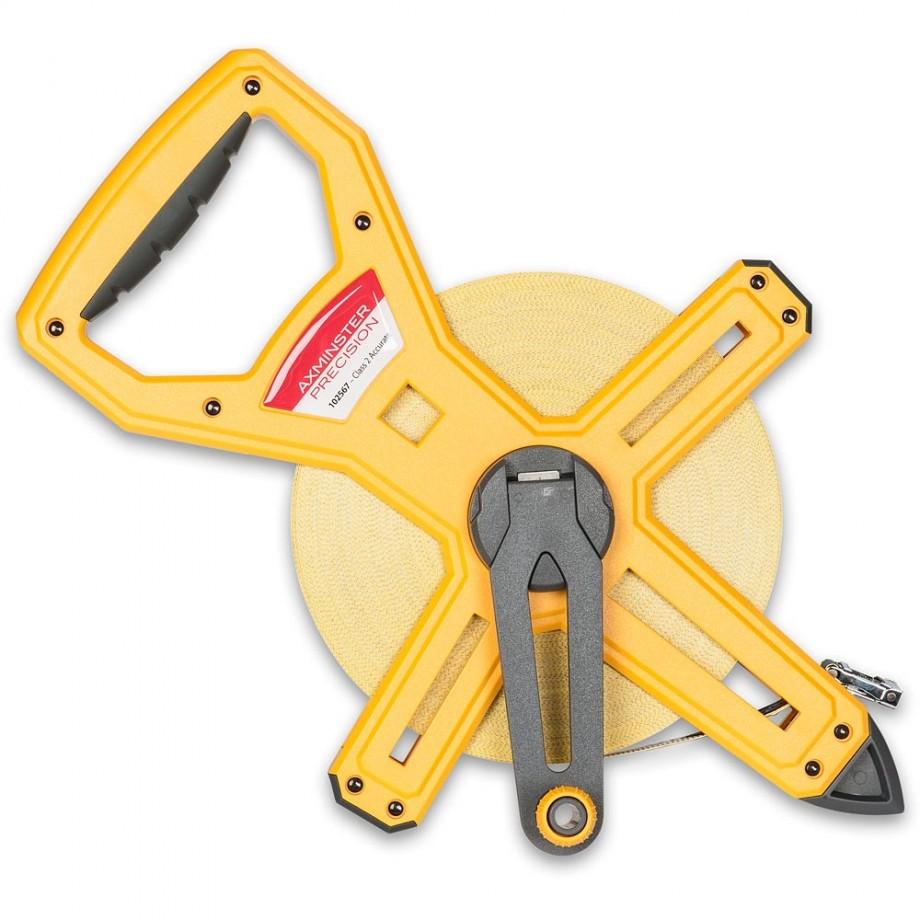 Axminster Precision Open Reel Fibreglass Tape 30m
