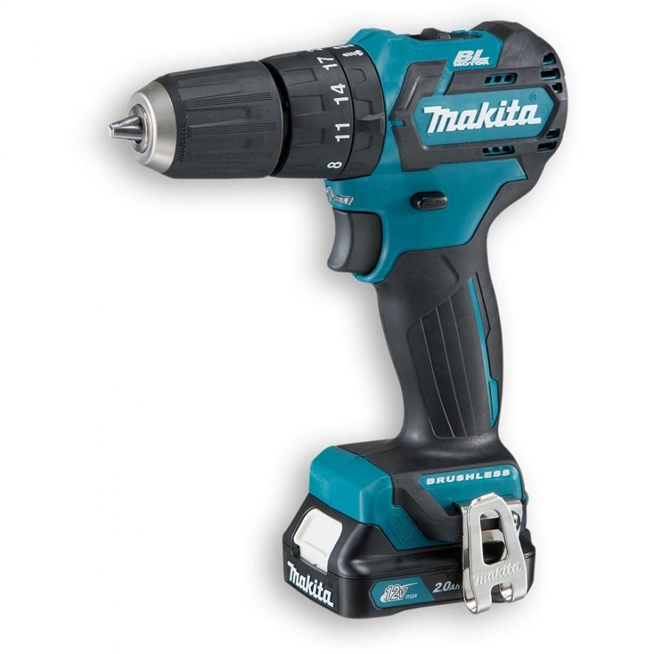 Makita HP332DSAJ Brushless Combi Drill 10.8V