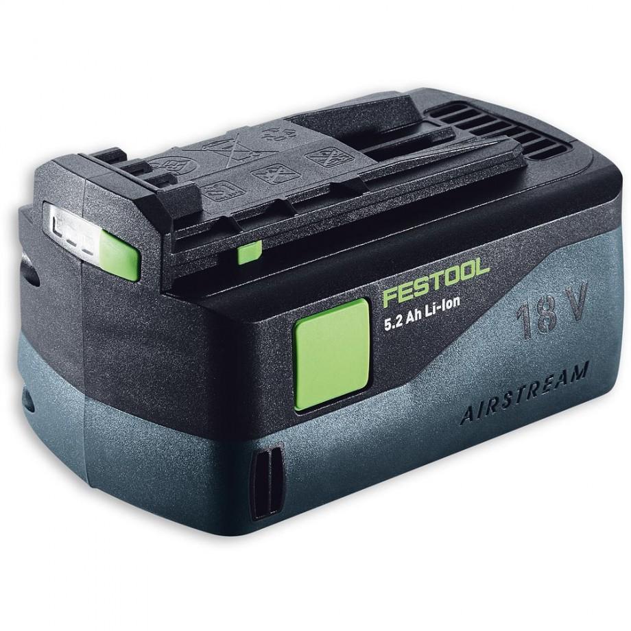 Festool Li-Ion AIRSTREAM Battery 18V (5.2Ah)