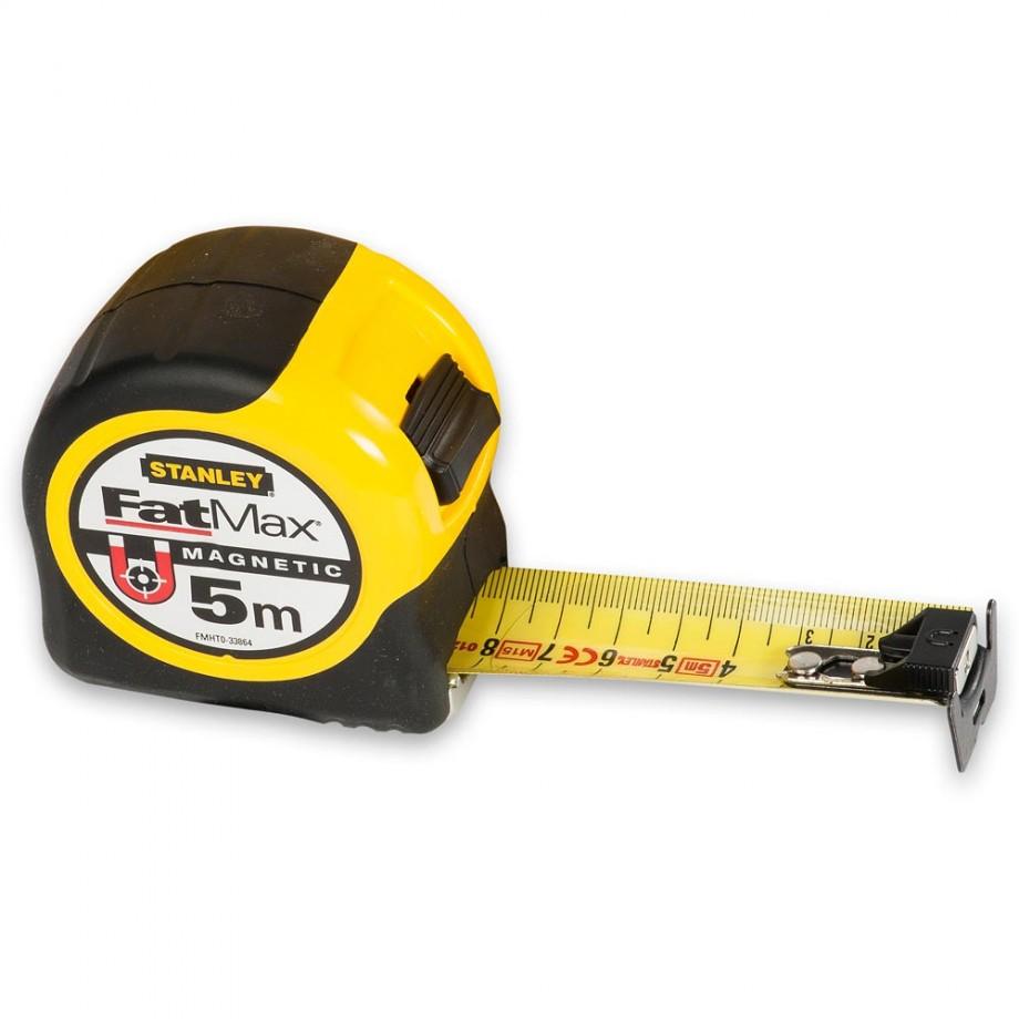 Stanley FatMax BladeArmor Magnetic Tape 5m