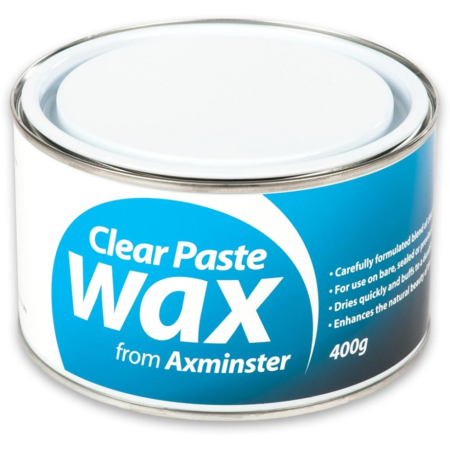 Axminster Clear Paste Wax 500ml