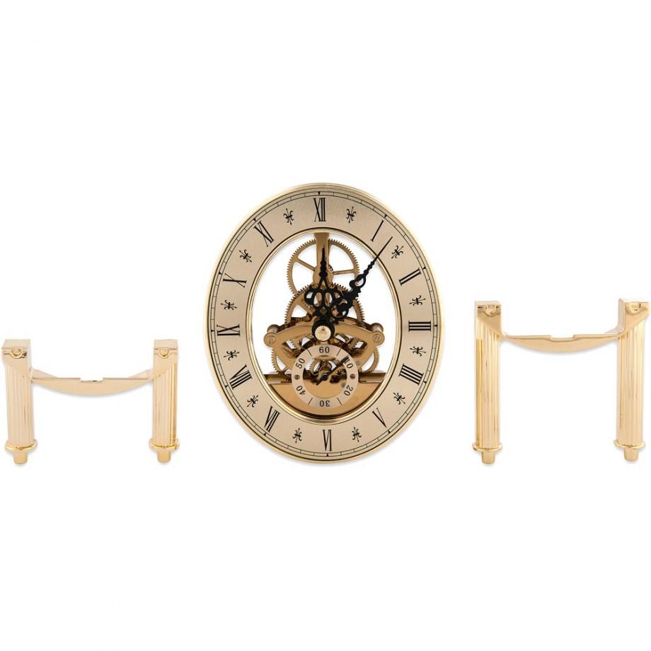 Craftprokits 105 x 125mm Gold Skeleton Clock