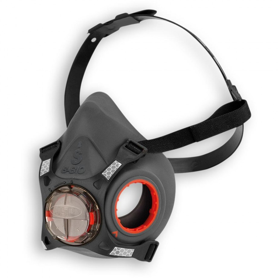 JSP Force™ 8 Reusable Half Mask Size Small (No filters)
