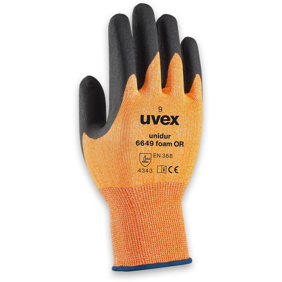 uvex Unidur 6649 Foam OR Gloves Size 10