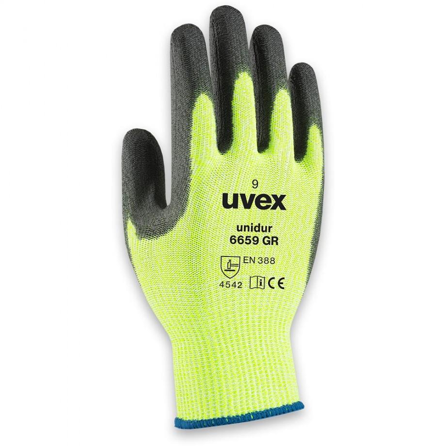 uvex Unidur 6659 PU GR Gloves Size 8