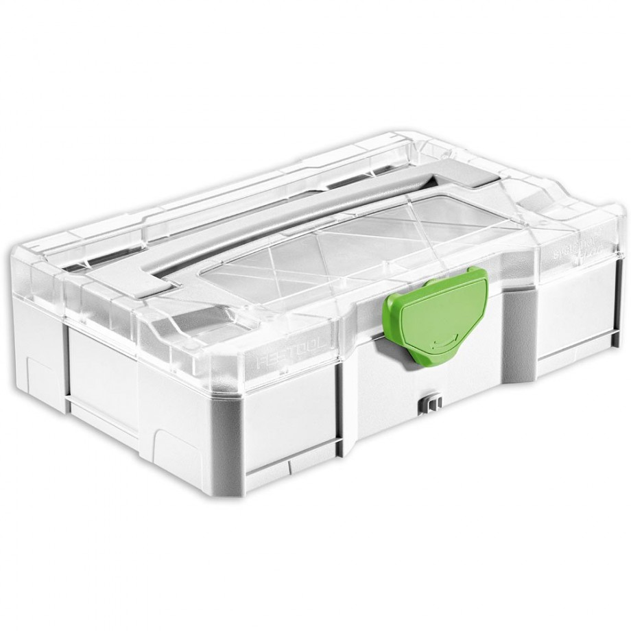 Festool MINI Systainer T-LOC with Transparent Lid