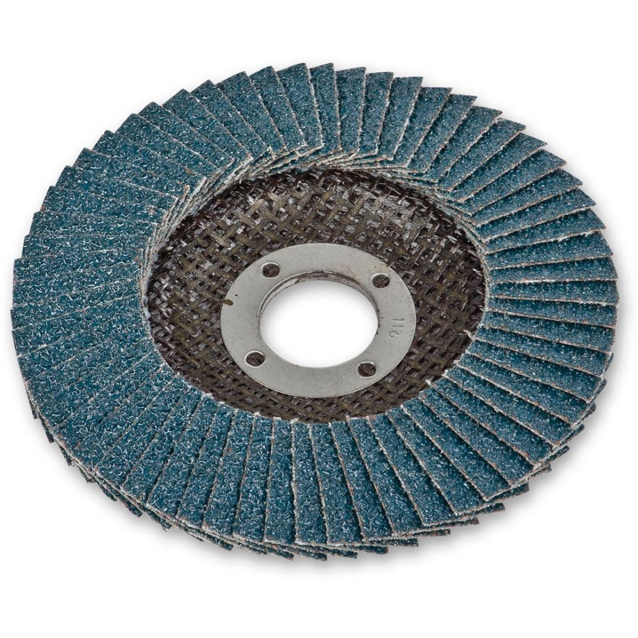 Zirconium Flap Disc - 115mm (22mm Bore) 40 Grit