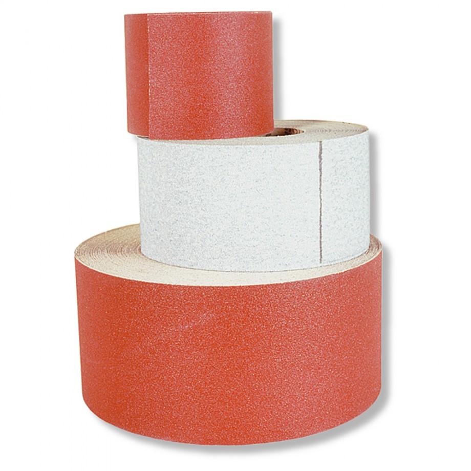 Hermes Resin Bonded Aluminium Oxide Abrasive Roll 10m x 115mm x 80G