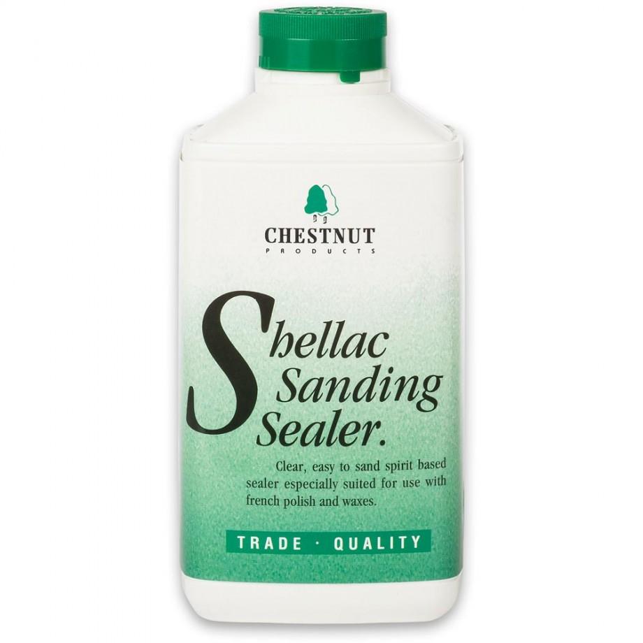 Chestnut Shellac Sanding Sealer - 1 litre