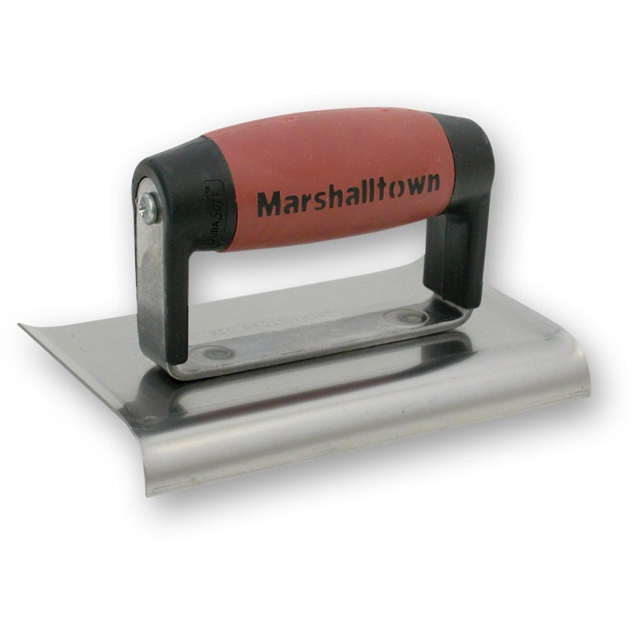 Marshalltown M136D Cement Edger with Curved ends