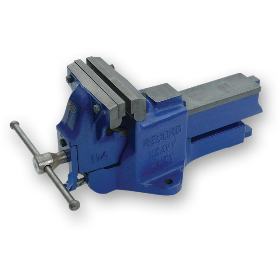 Record Irwin 114 Heavy-Duty Quick Release Engineers Vice