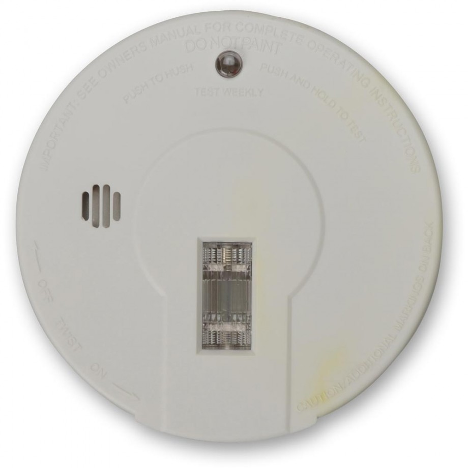 Kidde Smoke Alarm - Premium General Purpose with Test Light & Hush