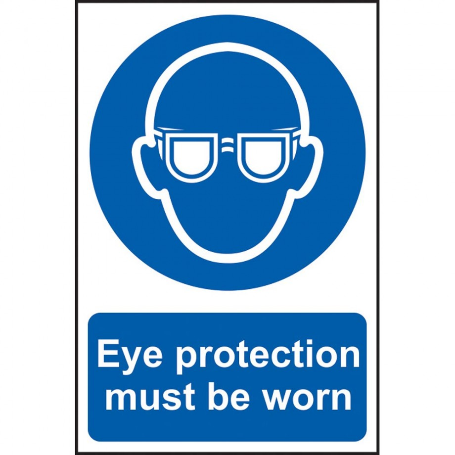 Scan Wear Eye Protecton Notice