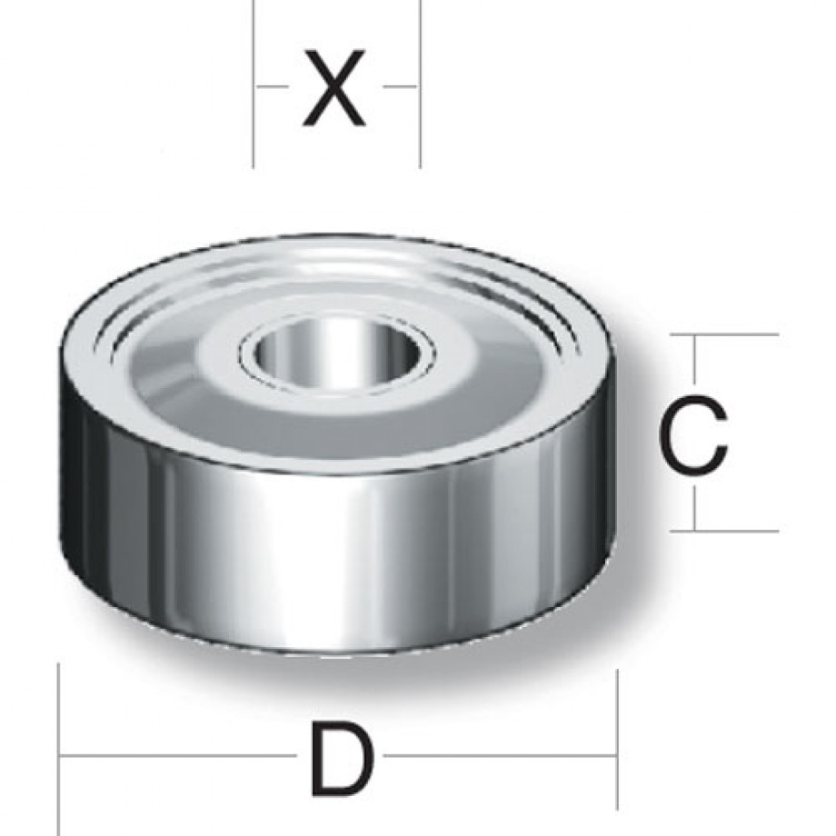 Axminster Bearing 607 2RS