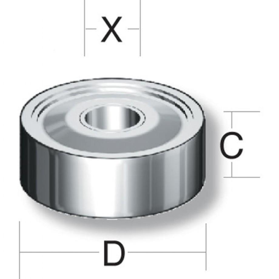 Axminster Bearing 6003 ZZ