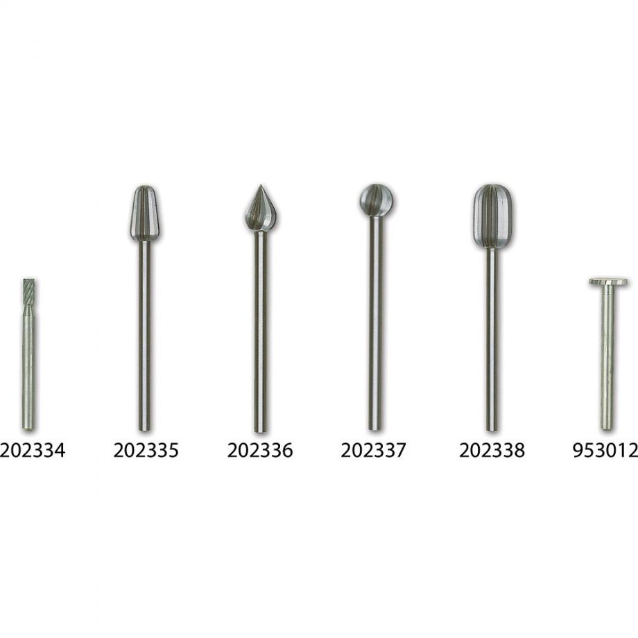Proxxon HSS Cutter - 6mm Dia (Pkt 2)