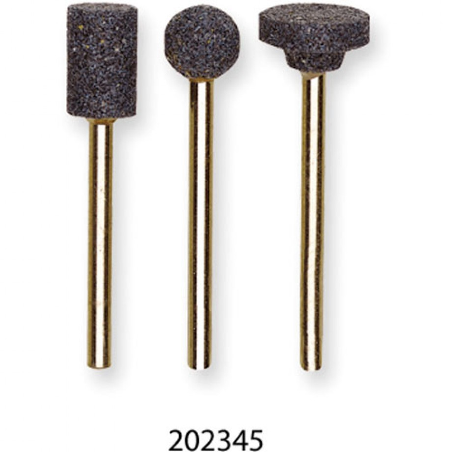 Proxxon Corundum Grinding Bit Cylinder 8 x 13mm - (Pkt 3)