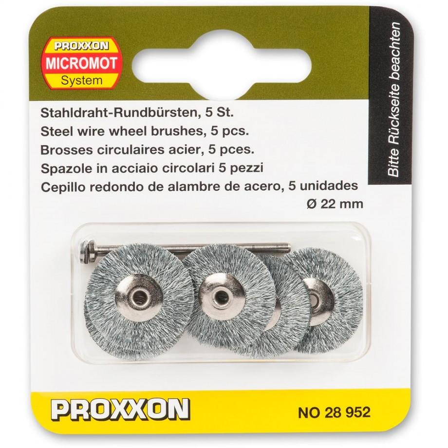 Proxxon Wire Wheel Brushes