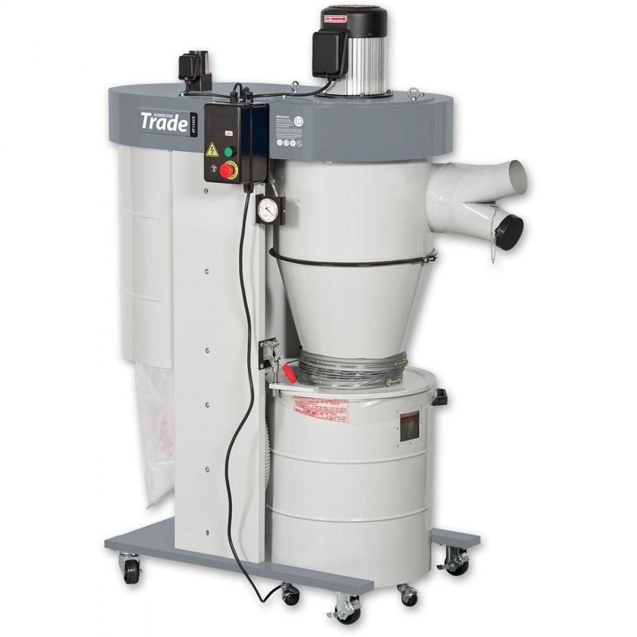 Axminster Industrial Series UB-2200VECK Cyclone Extractor