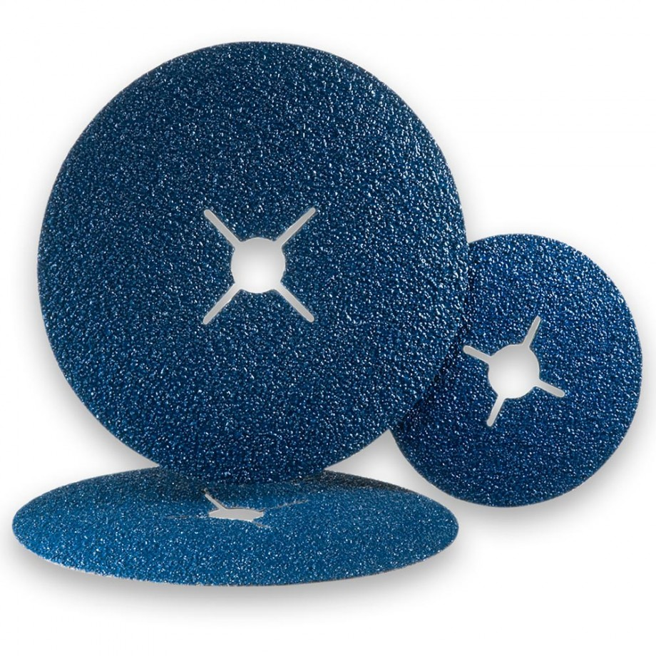 Zirconium Abrasive Discs - Packs 5