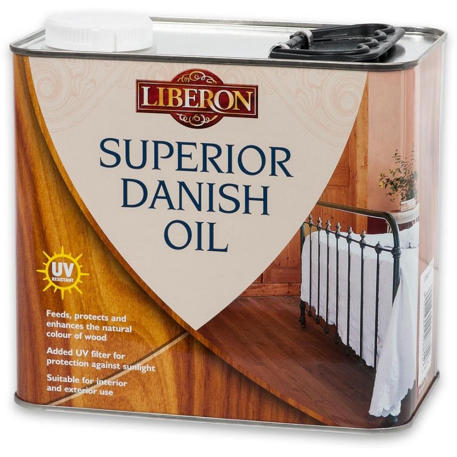 Liberon Superior Danish Oil - 2.5 litre