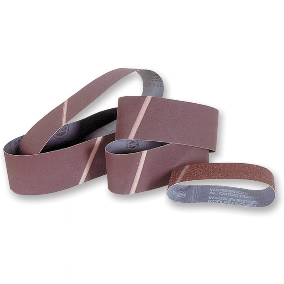 Hermes Cloth Sanding Belt 75 x 480mm x 180 Grit