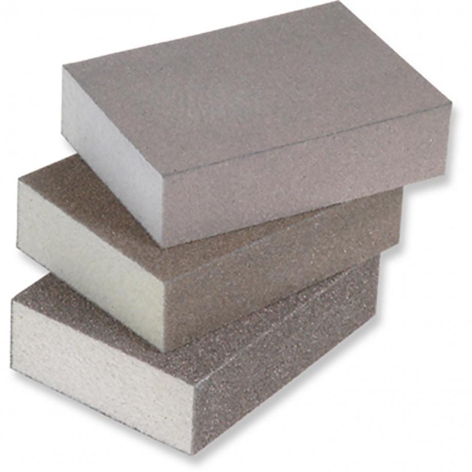 Hermes Four-Sided Sanding Block 100 Grit