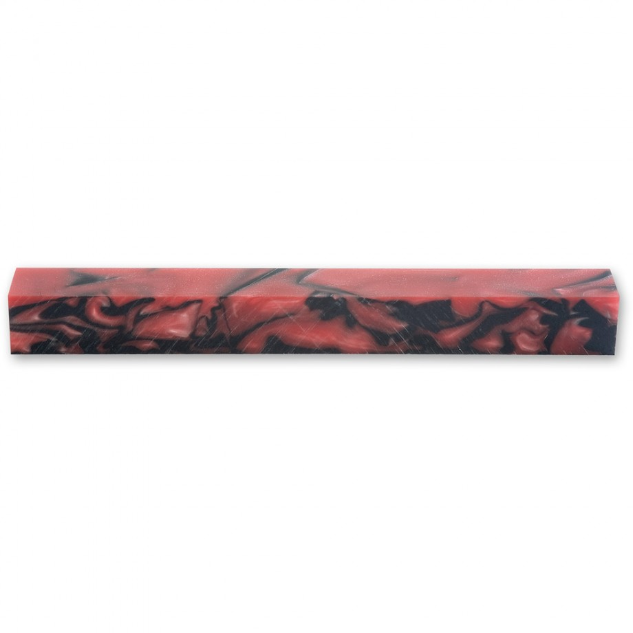 Craftprokits Lady in Red Acrylic Pen Blank