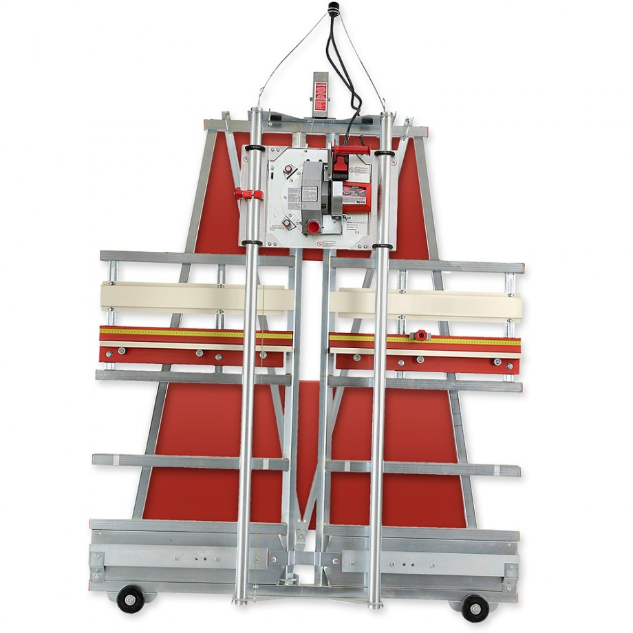 Safety Speed C4 Panel Saw with Wheel Kit, Stand & Sliding Dust Kit - PACKAGE DEAL