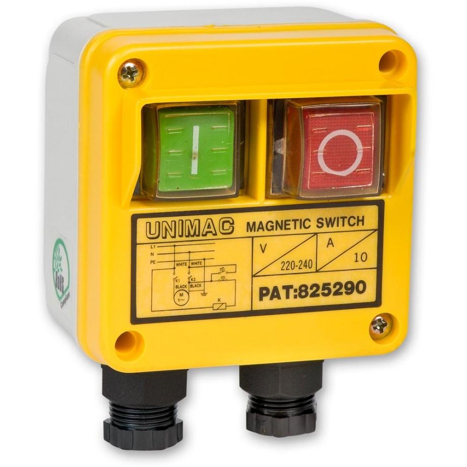 Axminster NVR Switch c/w Box 230V 1ph