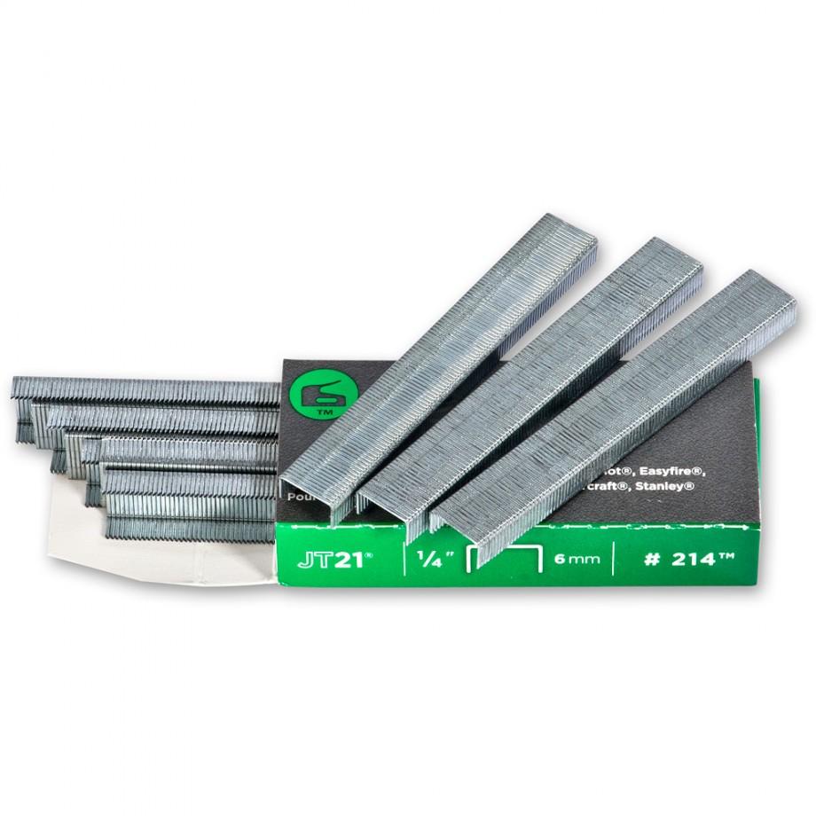 Arrow JT21 Staples - 10mm (Pkt 1,000)