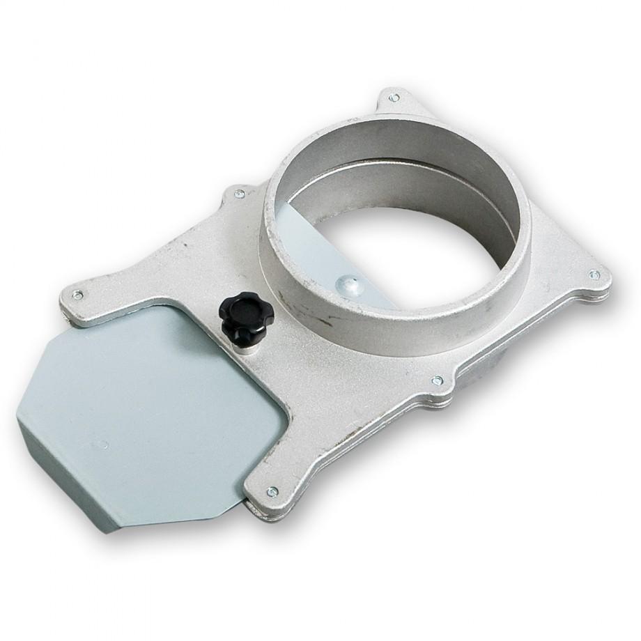 Axminster Aluminium Blastgate for 200mm Hose