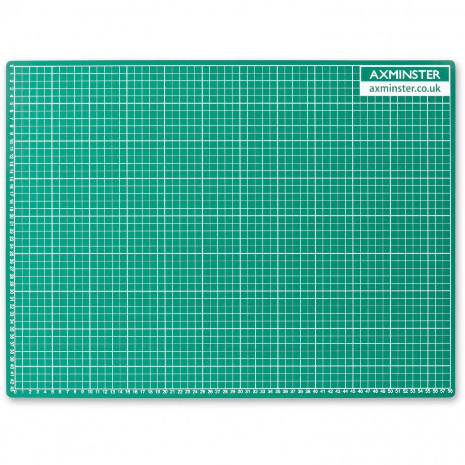Axminster Self Healing Cutting Mat - A2 (594 x 420mm)