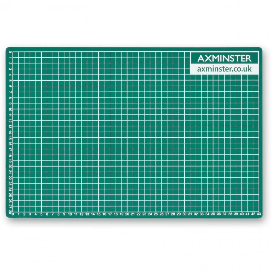 Axminster Self Healing Cutting Mat - A3 (297 x 420mm)