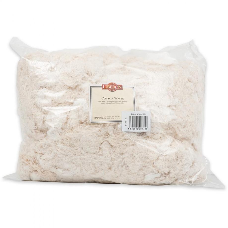 Liberon Cotton Waste - 1kg