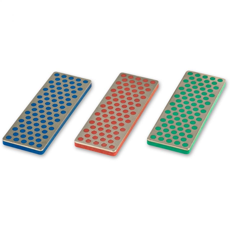DMT 3 Piece Mini  Diamond Whetstone Set