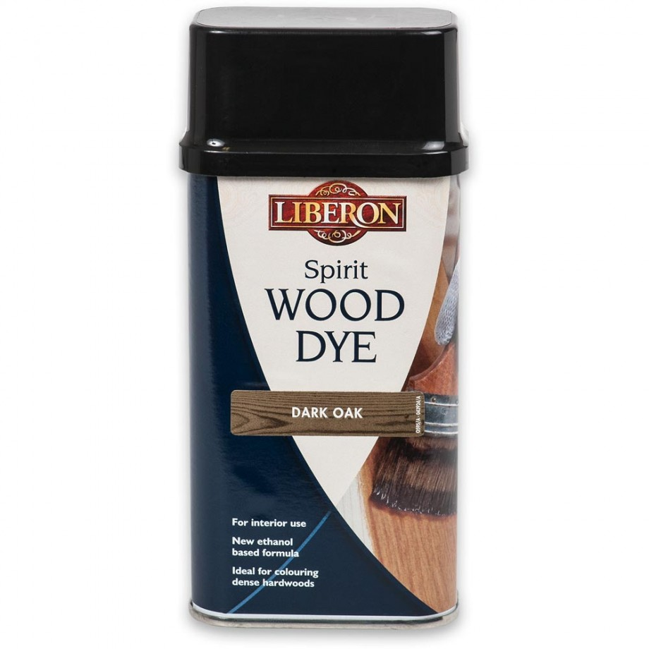 Liberon Spirit Wood Dye - Dark Oak 250ml