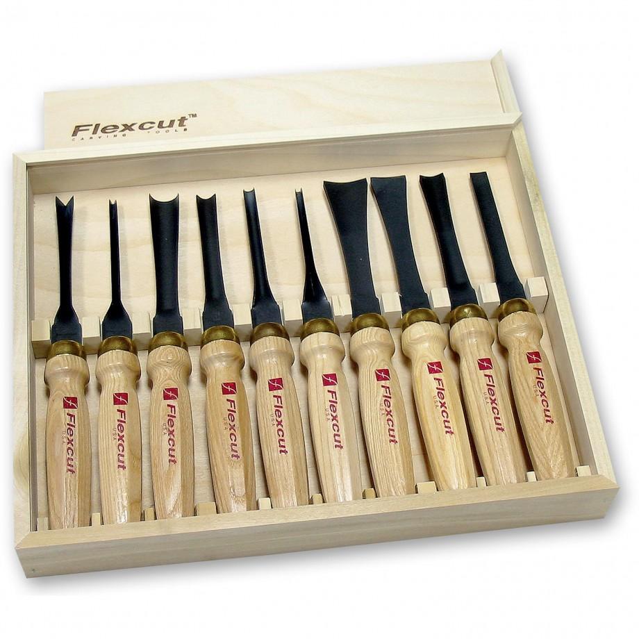 Flexcut MC100 10 Piece Deluxe Mallet Set
